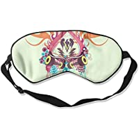 Eye Mask Eyeshade Fashion Color Pattern Sleeping Mask Blindfold Eyepatch Adjustable Head Strap preisvergleich bei billige-tabletten.eu