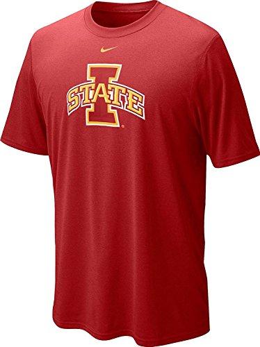 Nike Iowa State Cyclones Herren College Logo Legend Dri-Fit T-Shirt XXL Varsity Crimson Red -