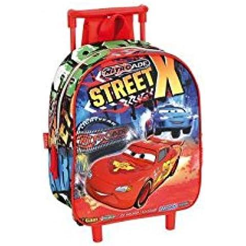 Zaino Trolley Asilo Cars street Disney Pixar