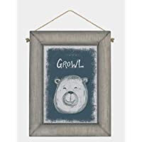 Amaal Trading East of India Animal Face Picture Frame Plaque (Various options) (Bear)