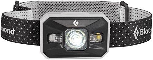 Black Diamond Storm Stirnlampe Aluminium / Robuste und wasserdichte Kopflampe mit 8 verschiedenen Beleuchtungsoptionen inkl. RGB-Nachtsichtmodus / Max. 350 Lumen