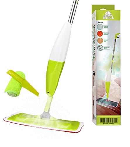 ARSUK Spruzzo grilletto Spruzzatore per pavimenti a spruzzo d'acqua Mop in microfibra spray da 700 ml