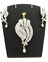 Jewelry Pendant Set For Women Girls/Necklace Set With Earring For Girls & Women