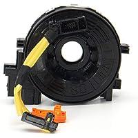 Airbag profesional de espiral con resorte de reloj para Toyota Camry 2012-2014 espiral de cable con airbag de resorte OE # 84307-06090 - Negro