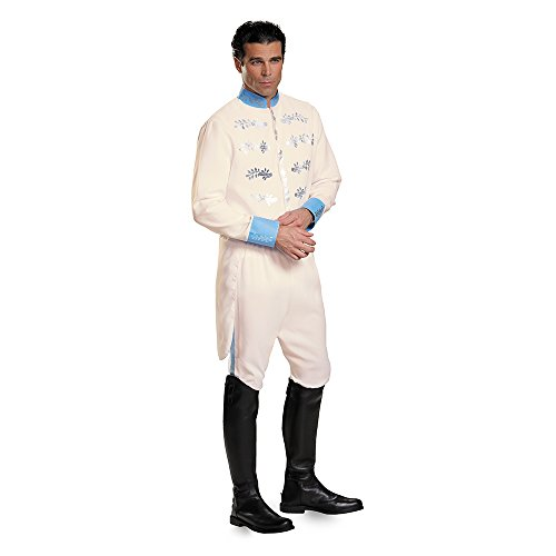 Disney Cinderella Prince Charming Adult Deluxe XX-Large - Prince Charming Und Cinderella Kostüm