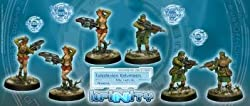Infinity: Ariadna Caledonian Volunteers (Rifle, Light GL)