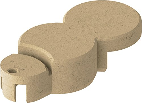 Bio-Rasenkante RKS-SAND-SET 1 Rasenkantensteine, 22 x 10 x 5,5 cm, sand