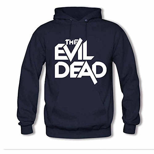 Womens Hooded Sweatshirt The Evil Dead Logo Cotton Hoodie 3XL