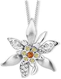 d917cca3f593 Edelweiss Collar con Swarovski® Cristales de Cryst Alp