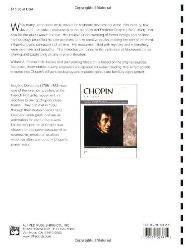 Chopin -- Nocturnes (Complete) (Alfred Masterwork Editions)