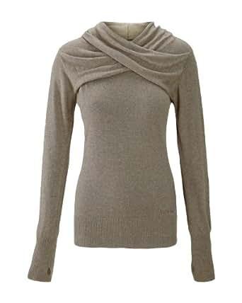 Bench Damen Pullover Pullover Octoberist braun (wolf marl) Medium