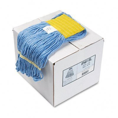 UNISAN Super Loop Wet Mop Head, Cotton/Synthetic, Medium Size, Blue (502BL) by UNISAN (English Manual)