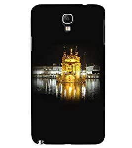 Fuson Premium Sona Mandir Printed Hard Plastic Back Case Cover for Samsung Galaxy Note 3 Neo N7505