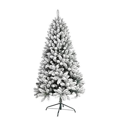 XL- Weihnachtsbaum weiß 90cm / 120cm / 150cm / 180cm / 210cm Weihnachtsschmuck Zedernschmuck (größe : 180cm(Height))