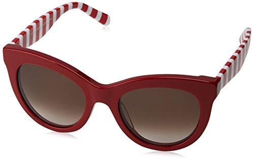 Tommy hilfiger th 1480/s ha c9a 51 occhiali da sole, rosso (red/brwn sf), donna