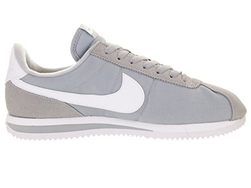 Nike Cortez Nylon Basic Chaussures Casual Wolf Grey/White/Mtllc Silver