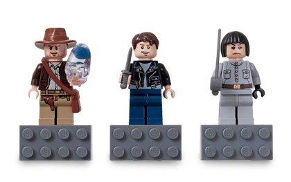 LEGO 852719 Indiana Jones - Figuras magnéticas de Indiana Jones (con cráneo de Cristal), Irina Spalko y Mutt Williams