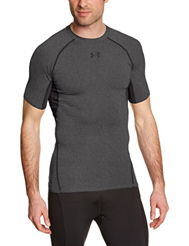 Under Armour Funktionsshirt Heatgear Herren Fitness - Funktionsshirts, Carbon Heather, M (Training Heatgear)