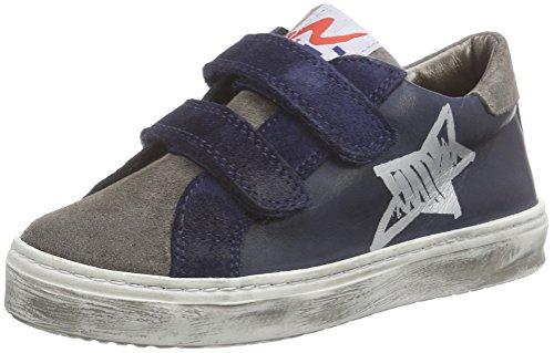 Naturino NATURINO 3960 Unisex-Kinder Sneakers Blau (Blau  9101)