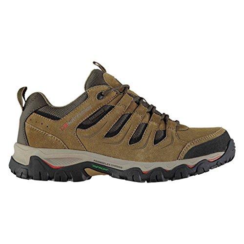 Karrimor Hombre Montas Bajo Caminar Zapatos Cordones Senderismo Weathertite Marrã³n 7.5 41.5