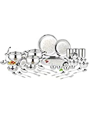 Calssic Essentials Stainless Steel Dinner Set