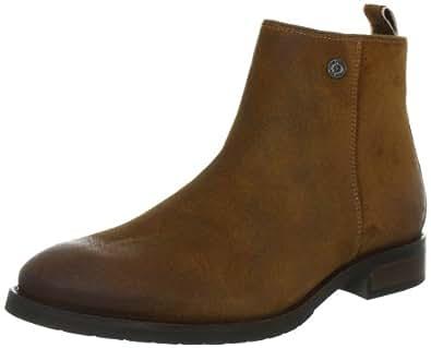 Hilfiger Denim DAMIAN 2B EM56814606, Herren Chelsea Boots, Braun (WASHED COGNAC 246), EU 42