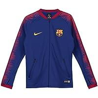 Nike FC Barcelona Anthem Chaqueta, Infantil, Deep Royal Blue/University Gold, Medium
