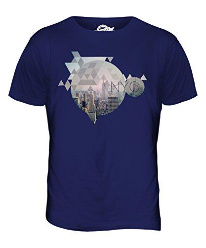 CandyMix New York City Herren T Shirt Navy Blau