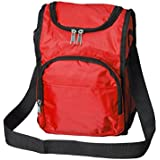 Lunchboxes for Boys - Insulated Boys Lunch Boxes, Thermal Red Lunch Bags for Kids School by Bayfield Bags
