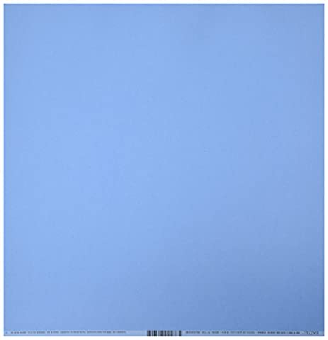 Bazzill Basics Paper 25 ScrapBooking Sheets Smoothies Wildberry Pie, Blue