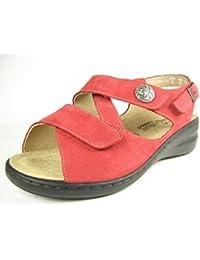 Solidus, sandales 21140–50070, rouge