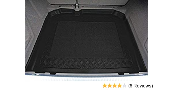Kofferraumwanne Kofferraummatte passend für Audi Q3 mit Notrad 2011-2018