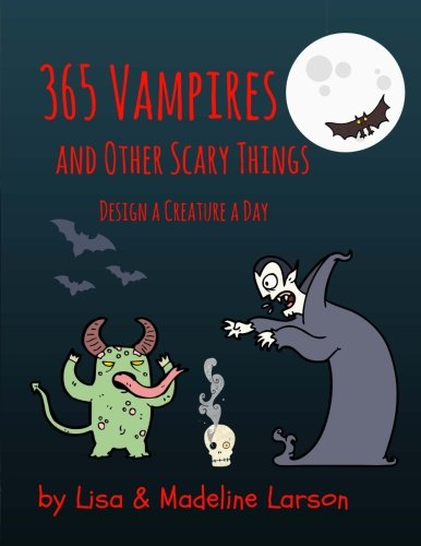 365 Vampires and Other Scary Creatures (Grad 4 Halloween-kunst)
