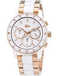 Lacoste Damen-Armbanduhr Analog Quarz Edelstahl 2000804
