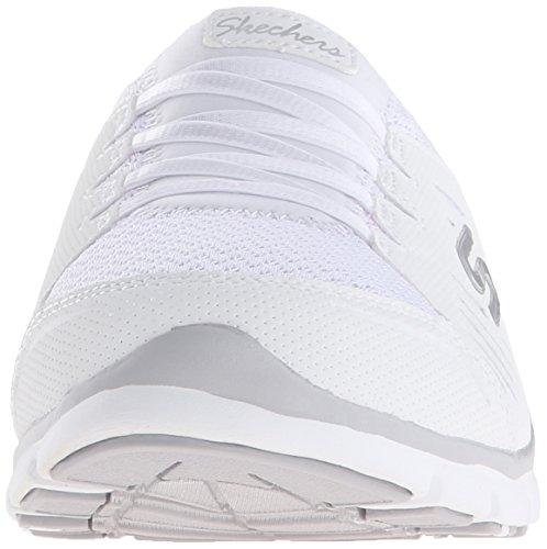 Donne Mulo Skechers Bianco Senza Delle Sneaker Sport on Slip Limiti Lo Di qTtTFp