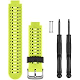 Garmin Replacement Watch Bands - Force Yellow Silicone