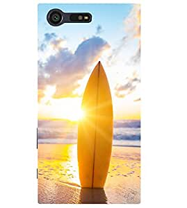 """NIRANG High Quality Printed Desinger Back Case Cover For """"Sony Xperia X Compact"""""""