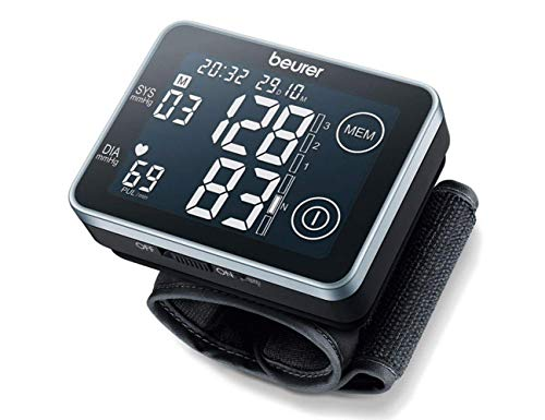 Beurer BC-58 Wrist Blood Pressure Monitor with Touchscreen (Black)