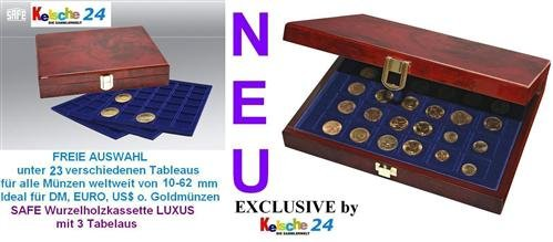 safe-premium-root-wood-coin-cassette-36-x-12-coins-up-to-45-mm-nr-5783-3-trays-6345-x-coins-up-to-45