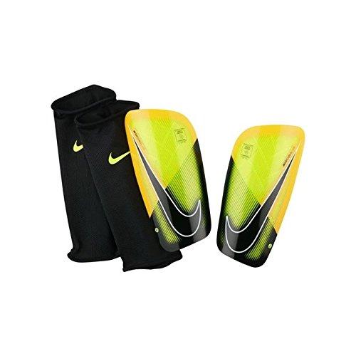 Nike Mercurial Lite Schienbein-Schützer, Grün, XS (Schienbeinschoner Fußball Mercurial)