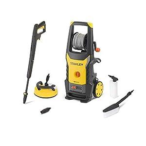 STANLEY 14144 Hidrolimpiadora, motor universal con mini patio y cepillo fijo, 2200 W