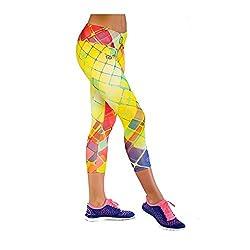 Nessi ¾ Leggings OSTK Sportleggings - hergestellt aus hochwertigen Textilien Kolsport® Giga-Elastic, die sanft, hautfreundlich, atmungsaktiv und flexibel sind. Es ist sehr wichtig, dass die Form und Farben auch nach mehrmaliger Wäsche, sowie unter de...