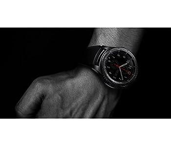 Samsung Sm-r760ndaadbt Gear S3 Frontier Smartwatch (3,3 Cm (1,3 Zoll) Display, Nfc, Bluetooth, Wlan, Tizen Os, Mit Silikon-armband) 1