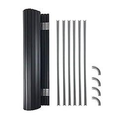 Tambour Door kit ideale (490MM larghezza x 650mm Drop) per camper e camper Kitchen Storage compatibile con la maggior parte di camper mobili Kits