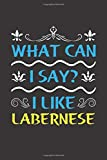 What Can I Say? I Like Labernese: Funny Lined Journal Notebook For Labernese Dog Lovers