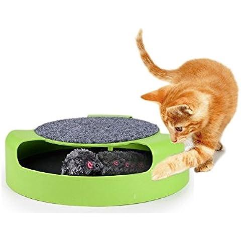 MWS2319 Juguete para gatos con ratón atrapado en el interior (25 cm)