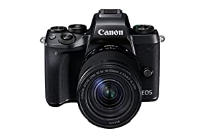 Canon EOS M5 Mirrorless Camera with EF-M 18-150 Lens - Black