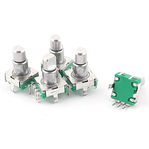 Composants de l'interrupteur à clé de l'interrupteur à bouton-poussoir à encodeur rotatif, 6 mm, 5 pièces