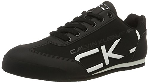 calvin-klein-jeans-cale-matte-smooth-patent-sneakers-basses-homme-multicolore-bwt-43-eu