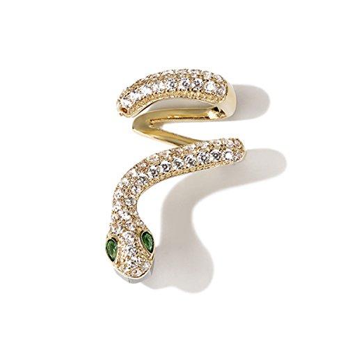 Ohrclips Ohr Knochen Clip Weibliche Mode Einfache Allzweck-Stil Frau Geschenk,Unitprice-S (Weiblich Weihnachten Elfen)